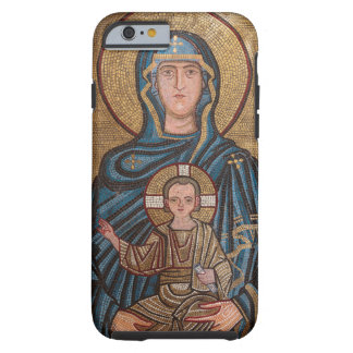 Virgin Mary And Jesus Mosaic Tough iPhone 6 Case