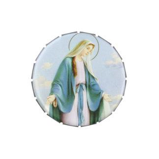 Virgin Mary Candy Tin