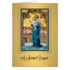 Virgin Mary Catholic Spiritual Bouquet Prayer Card