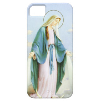 Virgin Mary Crescent Moon Case For The iPhone 5