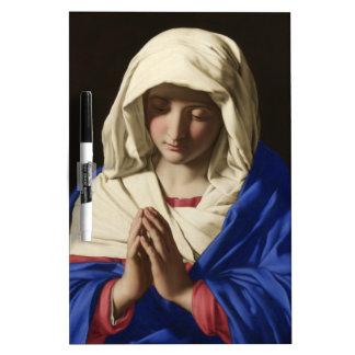 Virgin Mary Dry Erase Board