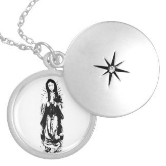 Virgin Mary Full length necklace