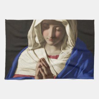 Virgin Mary Hand Towel
