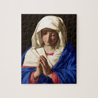 Virgin Mary Jigsaw Puzzle