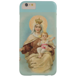 Virgin Mary Mount Carmel Scapular Jesus Barely There iPhone 6 Plus Case