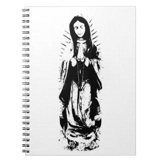 Virgin Mary notebook