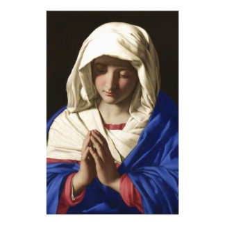 Virgin Mary Personalized Stationery