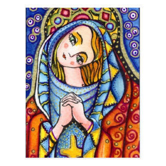 Virgin Mary Postcard