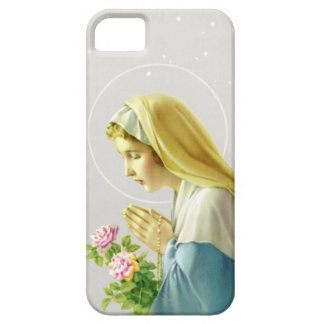 Virgin Mary Prayer iPhone 5 Case