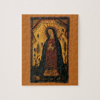 Virgin Mary Praying by Pedro Antonio Fresquis Jigsaw Puzzle