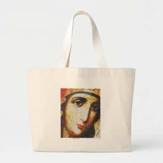 Virgin Mary with Saints Jumbo Tote Bag