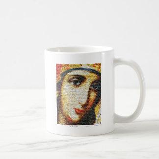 Virgin Mary with Saints Classic White Coffee Mug