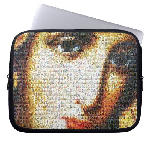 Virgin Mary with Saints Computer Sleeves