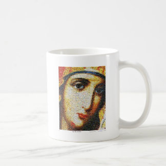 Virgin Mary with Saints Basic White Mug