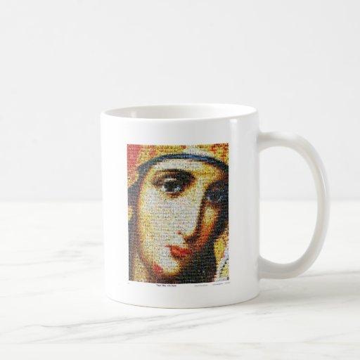 Virgin Mary with Saints Mug