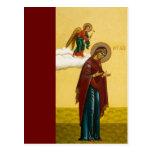 Virgin Mary's Russian icon Postcard