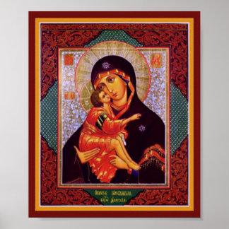Virgin Mother of Vladimir Poster