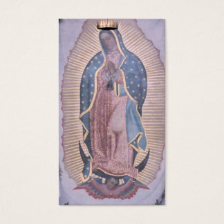 Virgin of Guadalupe Business Card
