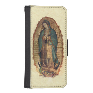 Virgin Of Guadalupe, Our Lady iPhone 5 Wallet