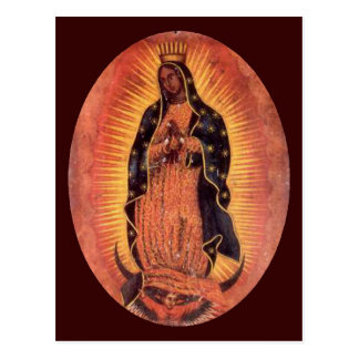 Virgin of Guadalupe Postcard