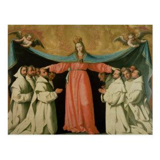 Virgin of the Misericordia Postcard