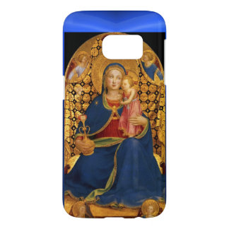 VIRGIN WITH CHILD AND ANGELS ,Blue Sapphire Samsung Galaxy S7 Case