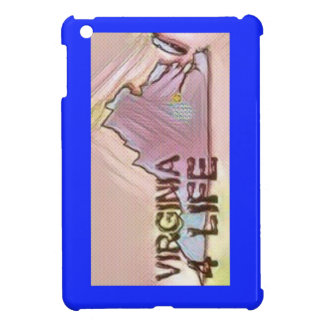 """Virginia 4 Life"" State Map Pride Design iPad Mini Covers"