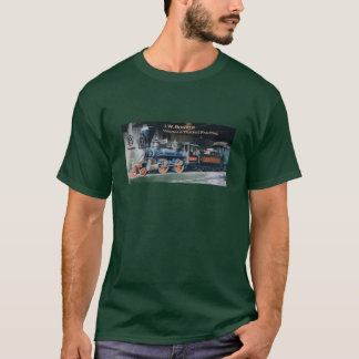 Virginia and Truckee engine J.W. Bowker t-shirt