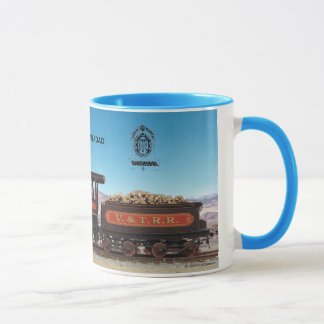Virginia and Truckee Railroad engine Empire mug