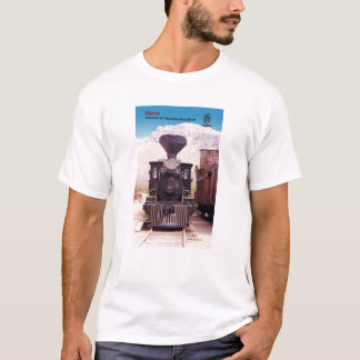 Virginia and Truckee Railroad engine Reno t-shirt