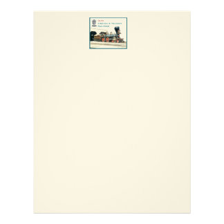 Virginia and Truckee Railroad letterhead - Inyo