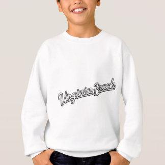 Virginia Beach neon sign in white Sweatshirt