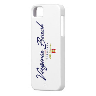 Virginia Beach Script iPhone 5 Cover