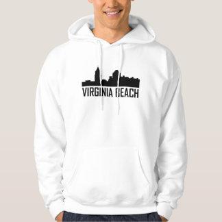 Virginia Beach Virginia City Skyline Hoodie