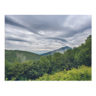 Virginia Blue Ridge Mountains Postcard
