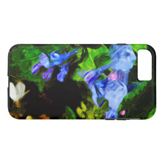 Virginia Bluebell Wildflower Abstract iPhone 7 Plus Case