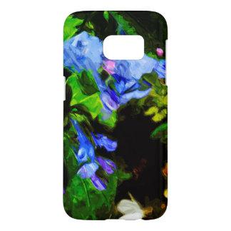 Virginia Bluebell Wildflower Impressionist Samsung Galaxy S7 Case