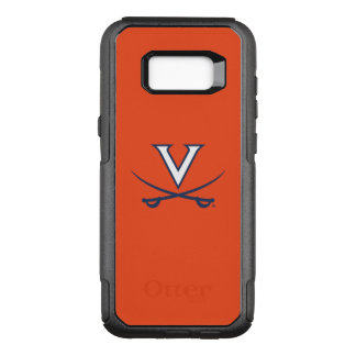 Virginia Cavaliers V Swords | Blue OtterBox Commuter Samsung Galaxy S8+ Case
