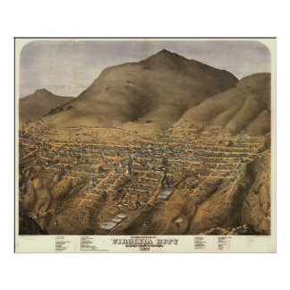 Virginia City, Nevada Poster