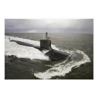 Virginia-class attack submarine art photo