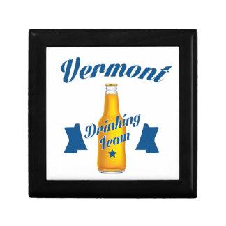 Virginia Drinking team Keepsake Boxes