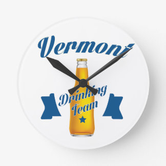 Virginia Drinking team Wall Clocks