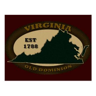 Virginia Est. 1788 Postcard