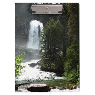Virginia Falls at Glacier National Park Clipboard