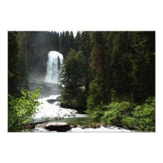 Virginia Falls at Glacier National Park Photo Print