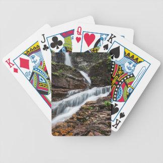 Virginia Falls Bicycle Playing Cards