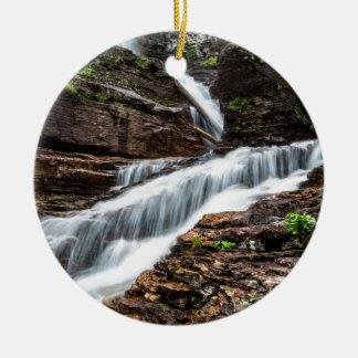 Virginia Falls Ceramic Ornament