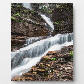 Virginia Falls Plaque