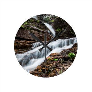 Virginia Falls Round Clock