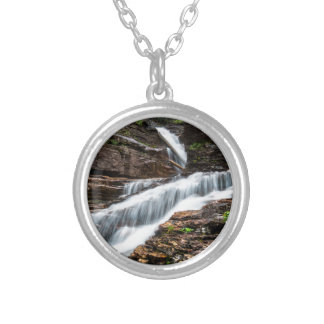Virginia Falls Silver Plated Necklace